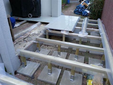 terrasse fundament fundament f 252 r terrasse seite 2 grillforum und bbq