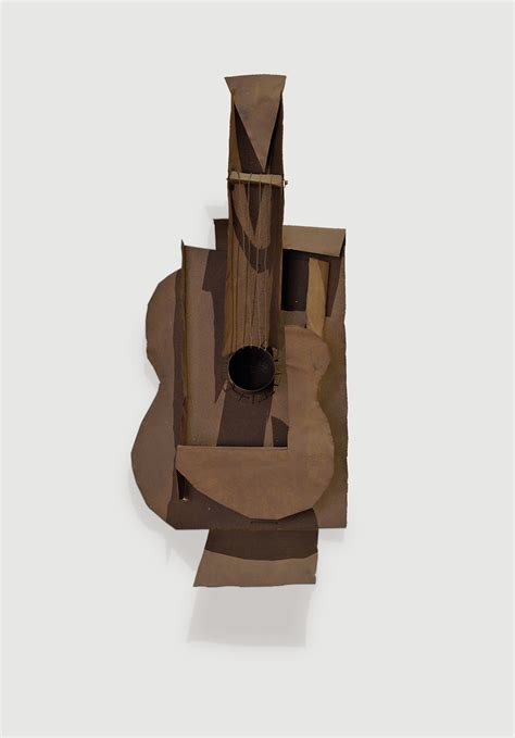 pablo picasso paintings guitar moma exhibition explores picasso s iconic guitar