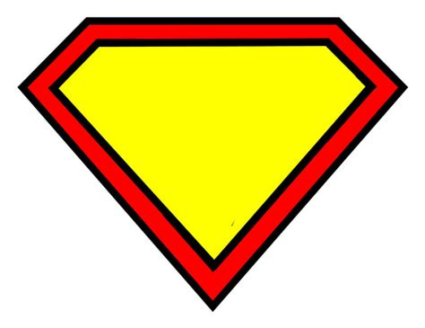 superman template superman logo blank flickr photo