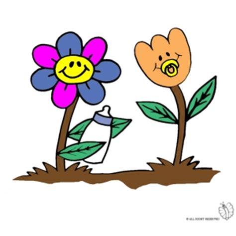 fiori animati gratis disegno di fiori animati a colori per bambini gratis