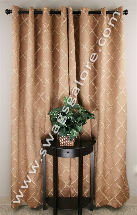 bronze grommet curtains envision grommet top curtains bronze stylemaster