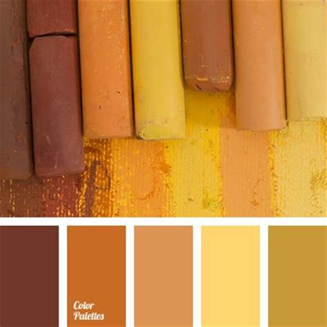 color palette yellow bright yellow chocolate color color bath dark brown