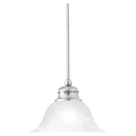 nickel pendant lighting kitchen thomas lighting 1 light brushed nickel hanging pendant
