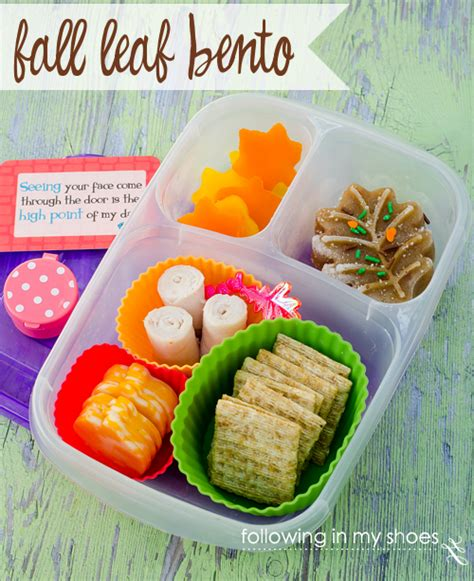 Bento Of The Week Fall Leaves by The Return Of Iheartlunch Fall Bento Ideas