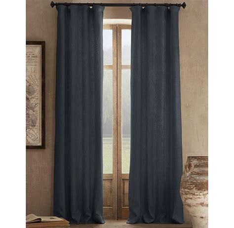 blue linen drapes smokey blue linen curtains for living room resto 159