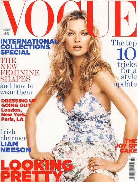 Miller Is Vogue Uks December Cover by Kate Moss 34 Vogue Uk Covers Flair