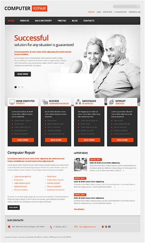wordpress themes computer store templatemonster giveaway over 1800 wordpress themes available