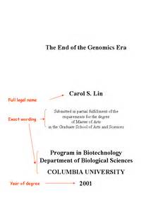 Thesis Title Page Thesis Title Page