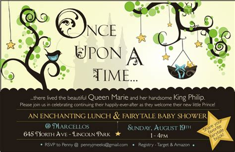 Once Upon A Time Online Invitations Cards By Pingg Com Once Upon A Time Invitation Template
