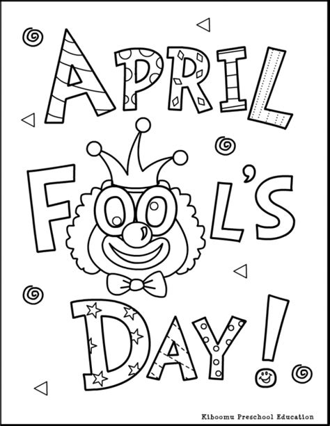 color for april april coloring pages to and print for free