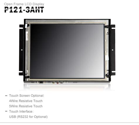 Forsa Led Monitor Touch Screen 12 1 12 1 inch desktop laptop extension display touch screen