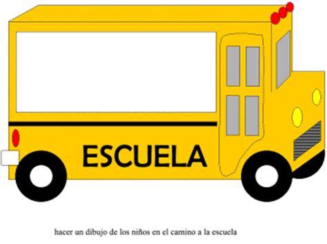 imagenes buses escolares animados hoja de actividades bus escolar