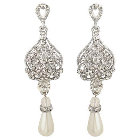 braut ohrringe tropfen aliexpress buy bella clear austrian crystal tear