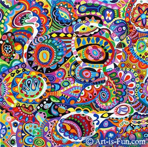 doodle guide chaos how to paint abstract a step by step visual guide for