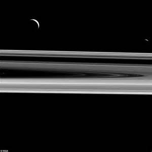 view of sun from saturn nasa reveals the melting ring of saturn daily