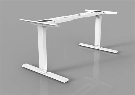 adjustable height desk legs uplift four leg adjustable height desk adjustable height