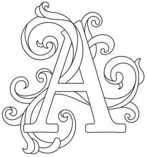 pattern design letter letter perfect alphabet gorgeous letters all different