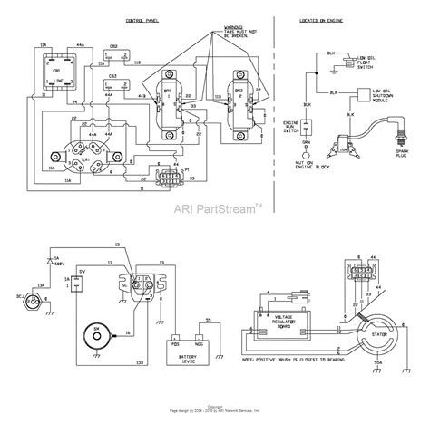 briggs and stratton wiring diagram briggs and stratton