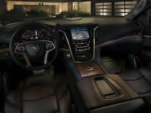 Cadillac Suv Interior 2015 Cadillac Escalade Price Photos Reviews Features