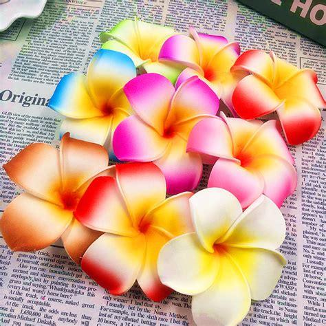 Foam Pe Ukuran 40 Cm X 10 M 1 Mm 10pcs 7 cm flower artificial multicolor egg flower heads pe foam hawaiian vacation tire diy