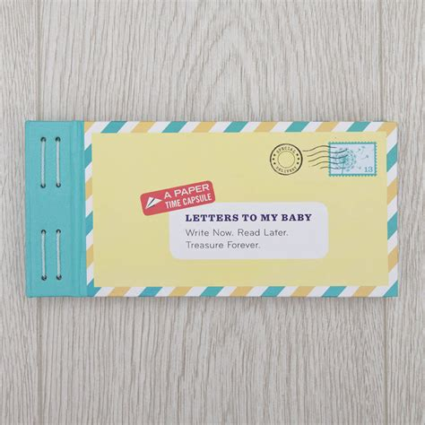 up letter to my baby letters to my baby writing kit by the gift oasis