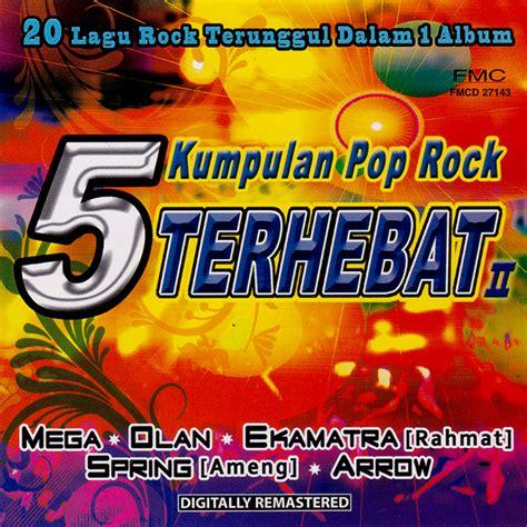 Cd Album Musik Original Kompilasi Lagu Cinta The Story Of 5 kumpulan pop rock terhebat 2 fmc malaysia