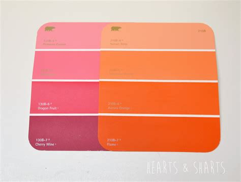 home depot paint colors orange painting ombre hearts sharts