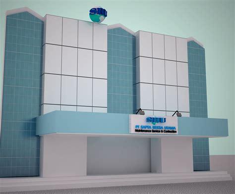 background gedung idesign arsitektur membuat logo perusahaan