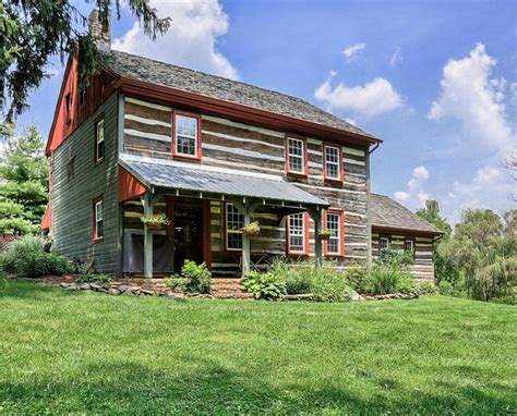 Log Cabins For Sale Pa by House Tour An Updated Log Cabin In Pennsylvania