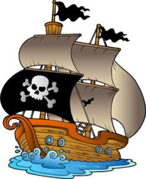 pirate ship clip clipart pirate ship free images at clker vector