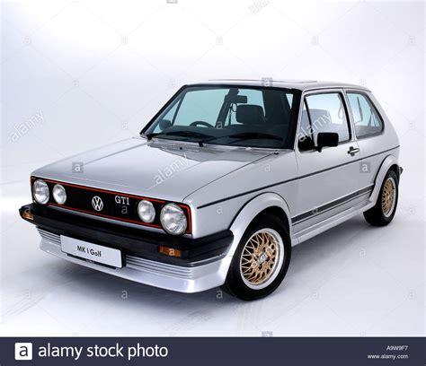 Vw Heritage Sticker by 1984 Vw Golf Gti Mk1 Stock Photo 2316790 Alamy