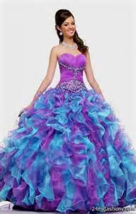 purple ball gown prom dresses 2016 2017 b2b fashion