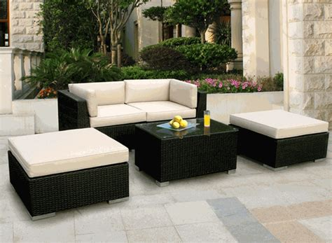 beautiful patio furniture beautiful outdoor patio wicker furniture seating 5pc set new