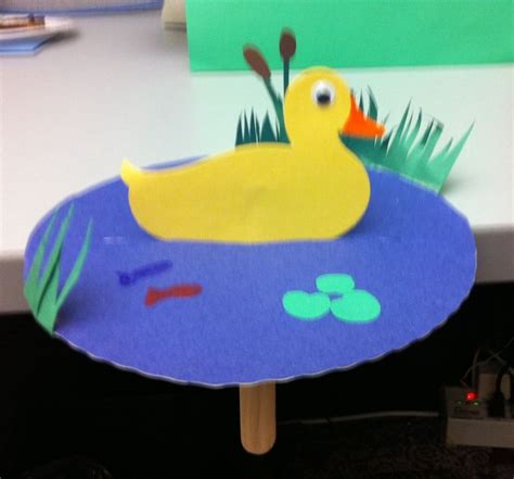 Duck Craft Preschool Crafts Storytime