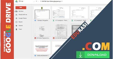 contoh format dupak guru terbaru lengkap dengan blanko dan