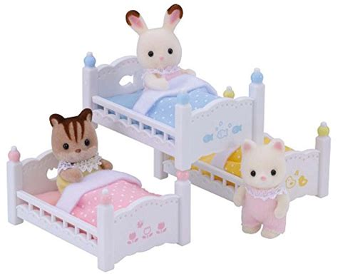 calico critters bunk beds calico critters triple baby bunk beds new ebay