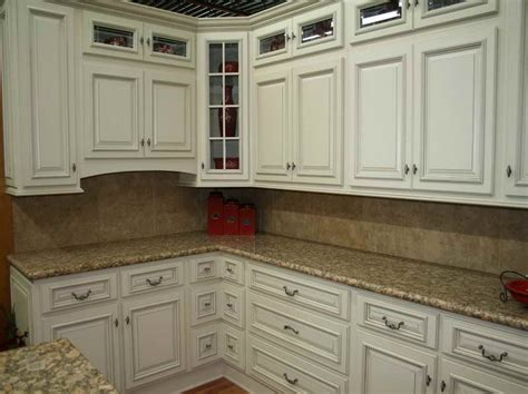 white kitchen cabinets with granite countertop home
