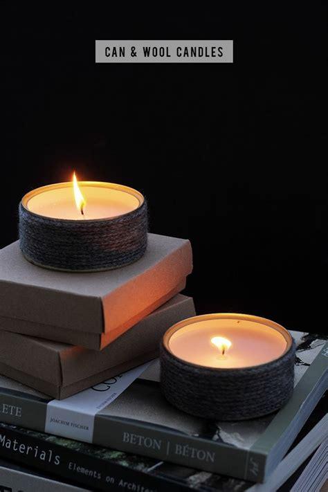 diy winter candles