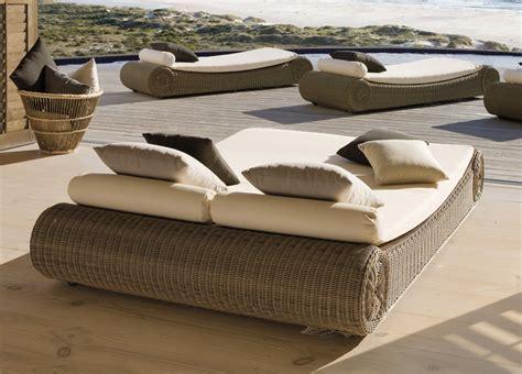 Sofa Armchairs Manutti Orlando Double Sun Bed Modern Garden Furniture