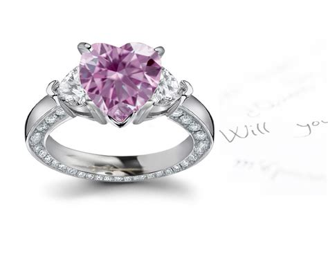 purple tanzanite and halo ring in platinum at
