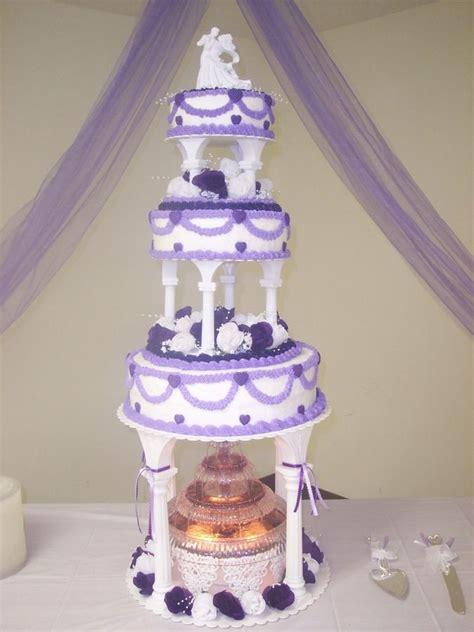 Cake Tier Cake Fontain Plastik Putih Wedding Cakes With Columns Wedding Cake W This Was A 3 Tier On Columns Wedding