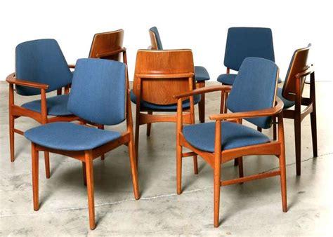danish modern dining set in teak at 1stdibs set of eight danish modern teak dining chairs 1960 s at