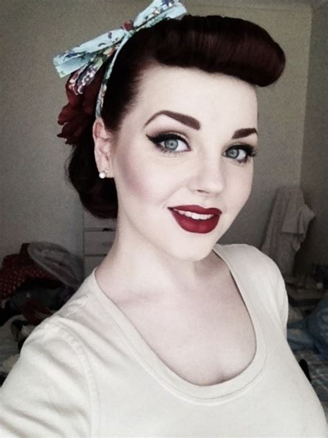 1940s bandana hairstyles rockabilly makeup tumblr