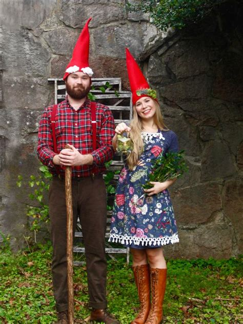 Diy Garden Gnome Halloween Costume Hgtv Garden Costume Ideas