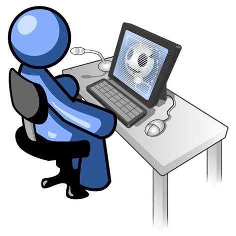 computer user clip art clipart best