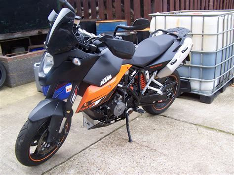Ktm 990 Smt Exhaust Ktm Smt990 With Quill Exhausts Whose Owner Travelled From