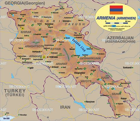 map of armenia goris armenia map