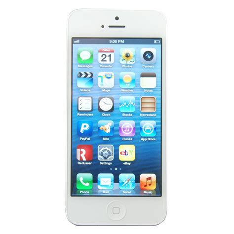 Apple Iphone 5 16gb apple iphone 5 16gb white silver talk smartphone