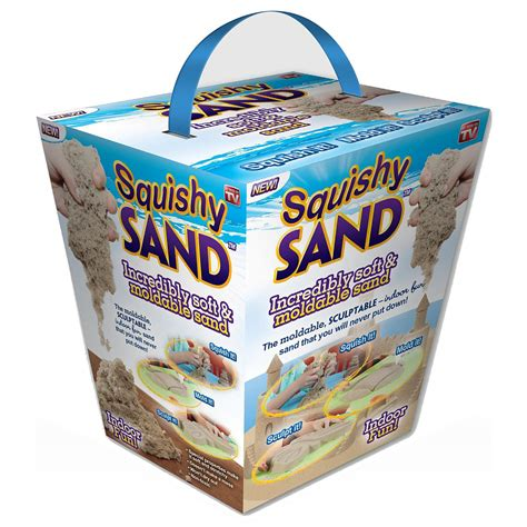 squishy sand moldable sand toys mainan pasir blue jakartanotebook