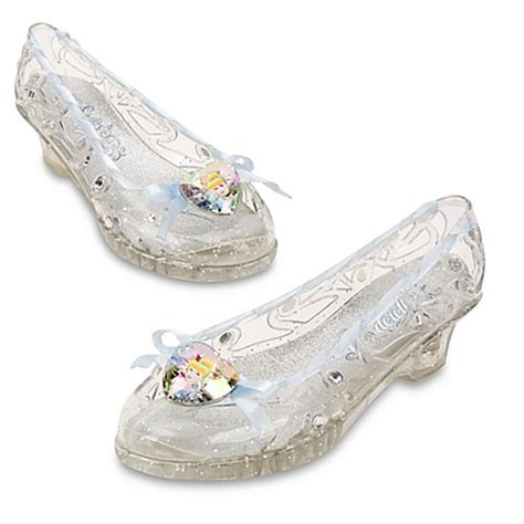 cinderella light up shoes size 7 8 nwt disney store light up cinderella costume shoes 7